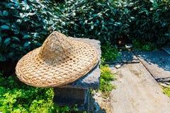 Cappello degli agricoltori di tè di stile tradizionale Immagini Stock