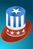 Cappello degli S.U.A. Fotografie Stock Libere da Diritti
