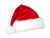 Cappello del Babbo Natale. Fotografie Stock