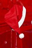 Cappello del Babbo Natale Immagine Stock