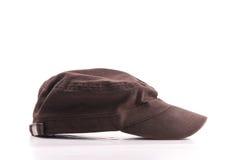 Cappello del Brown fotografie stock