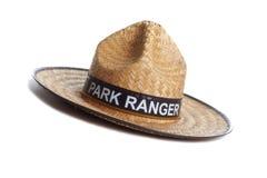Cappello del guardia forestale di sosta fotografie stock libere da diritti