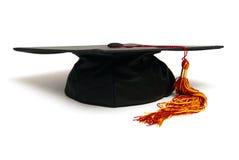 Cappello del laureato Fotografia Stock
