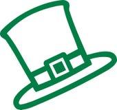 Cappello del leprechaun di giorno del ` s di St Patrick Immagine Stock Libera da Diritti