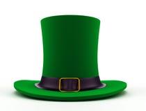 Cappello per il giorno di St Patrick Fotografia Stock Libera da Diritti