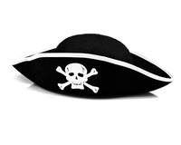 Cappello del pirata Immagine Stock