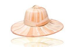 Cappello del tessuto Immagini Stock