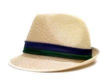 Cappello del tessuto isolato Fotografia Stock