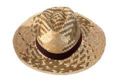 Cappello dell'agricoltore della paglia Fotografie Stock