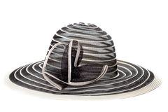 Cappello della donna Fotografia Stock