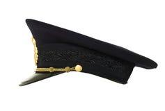 Cappello della polizia Fotografia Stock Libera da Diritti