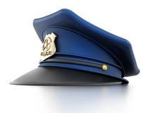 Cappello della polizia Immagine Stock