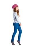 Cappello della ragazza del bambino Immagini Stock