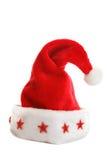 Cappello della Santa di natale Immagini Stock