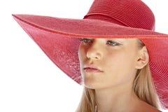 Cappello della spiaggia Fotografie Stock