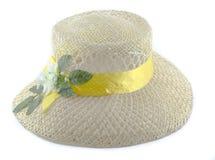 Cappello della spiaggia Fotografia Stock Libera da Diritti