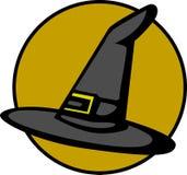 Cappello della strega Fotografia Stock