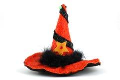 Cappello della strega Fotografie Stock Libere da Diritti