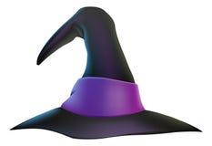 Cappello della strega di Halloween Fotografie Stock