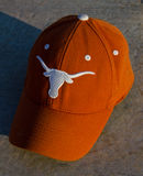 Cappello delle mucche texane del Texas Fotografia Stock Libera da Diritti