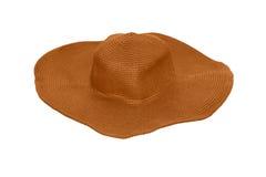 Cappello delle signore di estate immagine stock