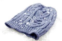 Cappello dello Snowy fotografie stock