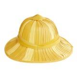 Cappello di bambù immagine stock