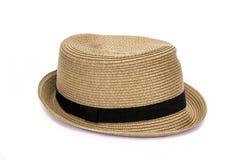 Cappello di Brown sopra immagine stock