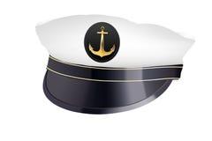 Cappello di capitano illustrazione di stock