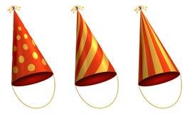 Cappello di carta del cono di festa royalty illustrazione gratis