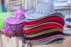 Cappello di colore Fotografie Stock Libere da Diritti