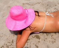 cappello di estate Fotografia Stock Libera da Diritti