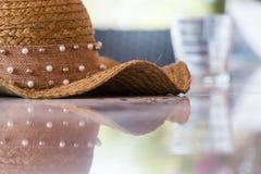 Cappello di estate Fotografie Stock Libere da Diritti