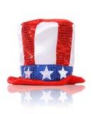 Cappello di festa di festa dell'indipendenza Immagini Stock