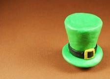 Cappello di giorno della st Patrick Fotografia Stock Libera da Diritti