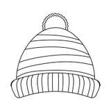 Cappello di inverno del Beanie Fotografia Stock Libera da Diritti