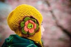 Cappello di inverno di Chullo Fotografie Stock Libere da Diritti