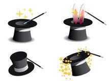 Cappello di magia di vettore Fotografia Stock