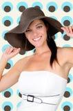 Cappello di modo Fotografia Stock