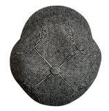 Cappello di modo isolato su priorità bassa bianca cappello colorato Immagine Stock Libera da Diritti