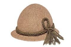 Cappello di Oktoberfest con cavo Fotografia Stock Libera da Diritti