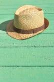 Cappello di paglia Immagini Stock