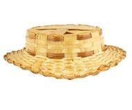 Cappello di paglia antico Immagine Stock