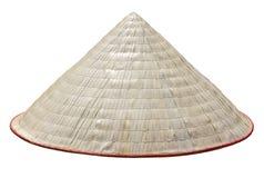 Cappello di paglia tradizionale del Vietnam Fotografia Stock
