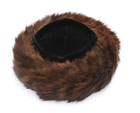 Cappello di pelliccia ebreo immagine stock