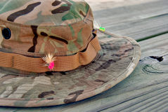 Cappello di pesca Immagine Stock Libera da Diritti