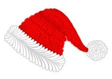 Cappello di Santa Claus Immagini Stock