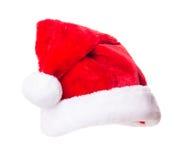 Cappello di Santa Claus Fotografia Stock