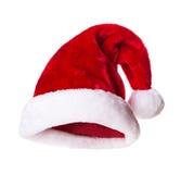 Cappello di Santa Claus Fotografia Stock Libera da Diritti