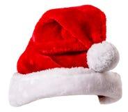 Cappello di Santa Claus Fotografie Stock Libere da Diritti